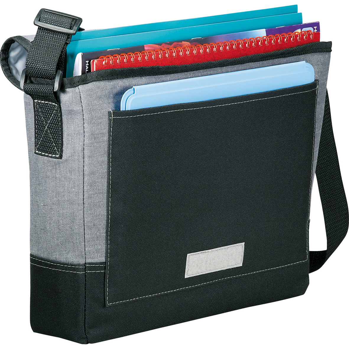 Faded Tablet Messenger Bag