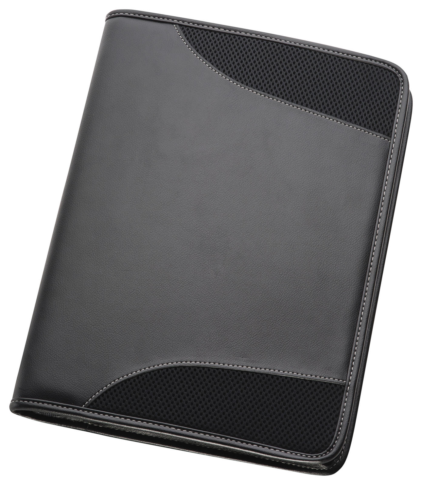 A4 Non-Leather Compendium - Black