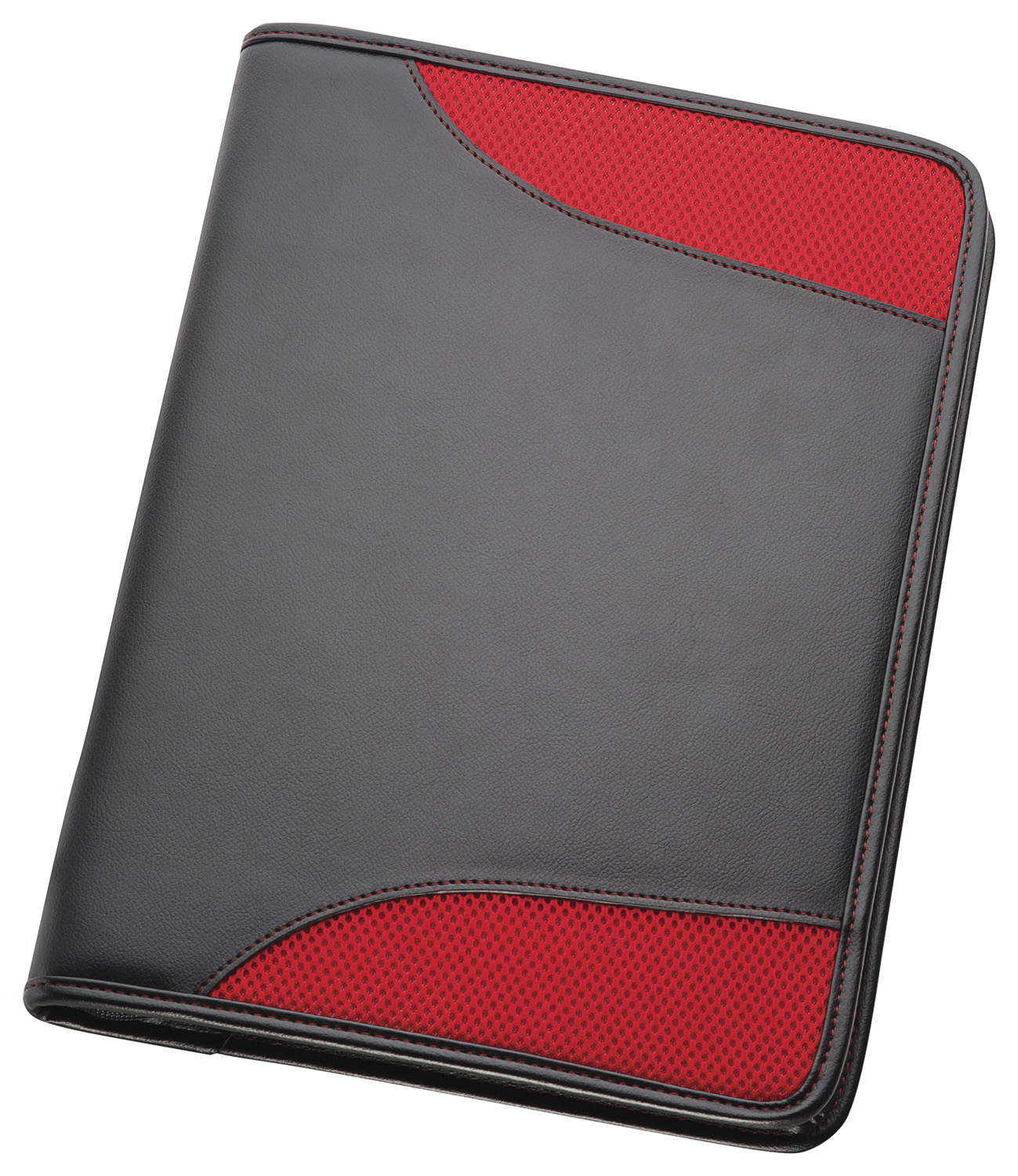 A4 Non-Leather Compendium - Red
