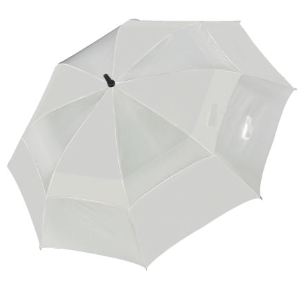 Supreme Umbrella - Silver/Black under