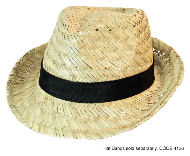 Fedora Straw Hat