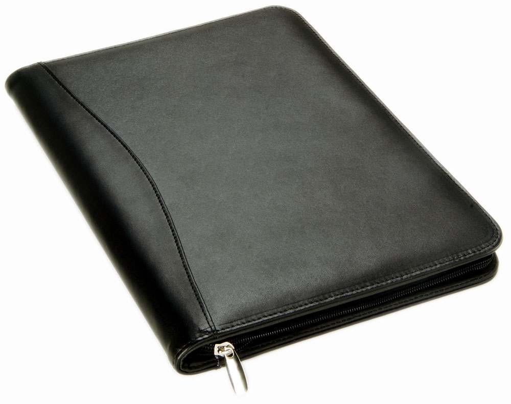 Leather Compendium with Calculator