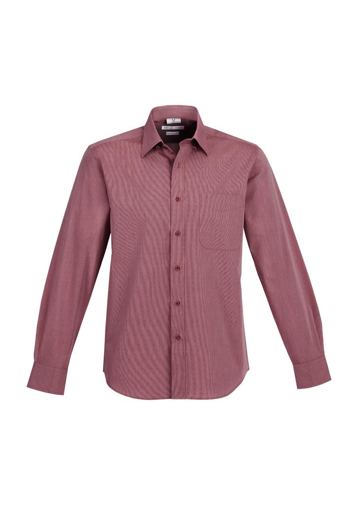 Mens Chevron Long Sleeve Shirt