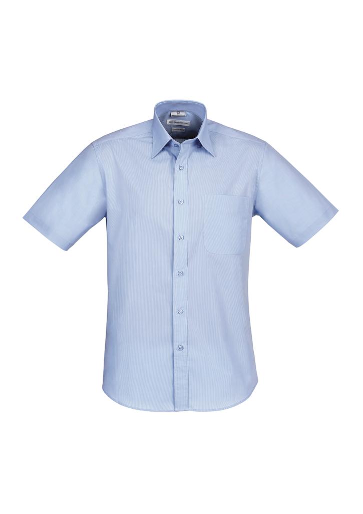 Mens Chevron Short Sleeve Shirt