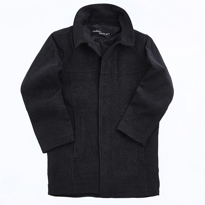 Mens Hudson Wool Coat