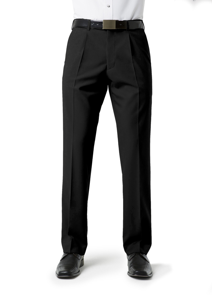 Mens Classic Pleat Front Pant