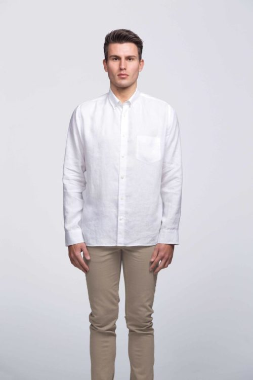 smpli Mens Linen Shirt