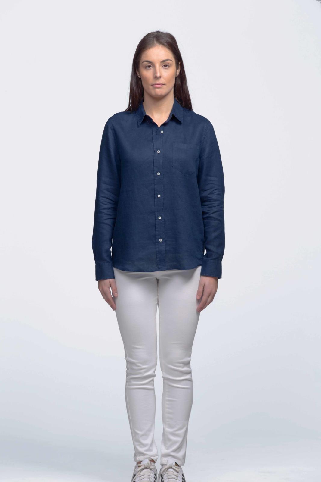 smpli Womens Linen Shirt
