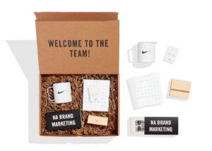 Employee onboarding welcome kit
