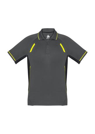 Grey/ Black/ Fluro Yellow