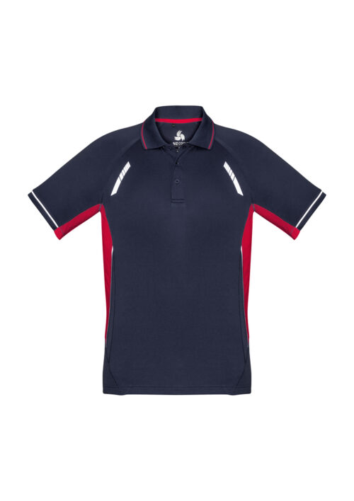 Navy/ Red/ Silver